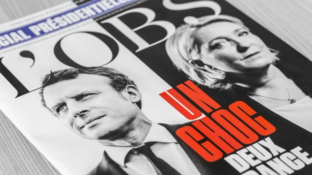 The French election: Missing information strikes again