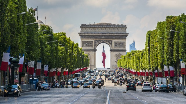 Gunman kills one police officer, wounds two others on Champs-Elysees in Paris