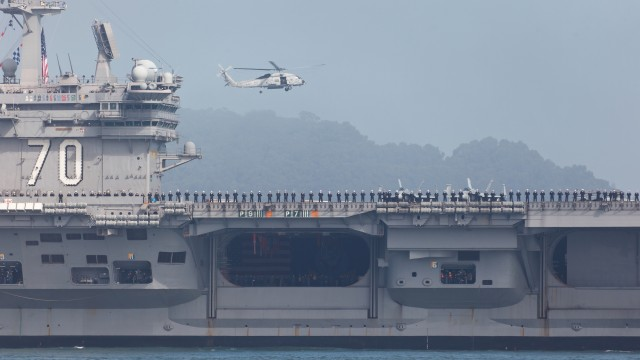 Jumping to conclusions: the USS Carl Vinson incident