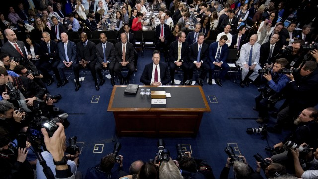 A scientific look at distortion in the coverage of Comey's testimony