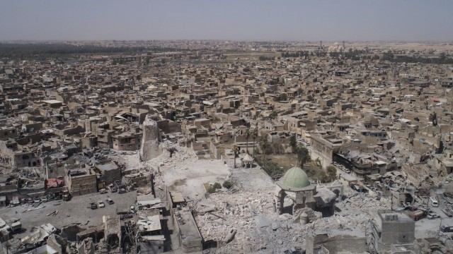 The recapture of Mosul's al-Nuri mosque: Is this really the end of the caliphate?