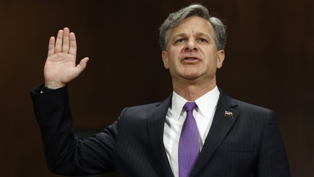 Cutting through the drama before and after Wray's hearing