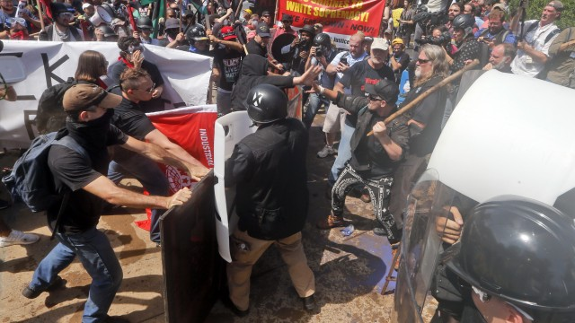 Charlottesville protests: How blame strengthens the chain of violence