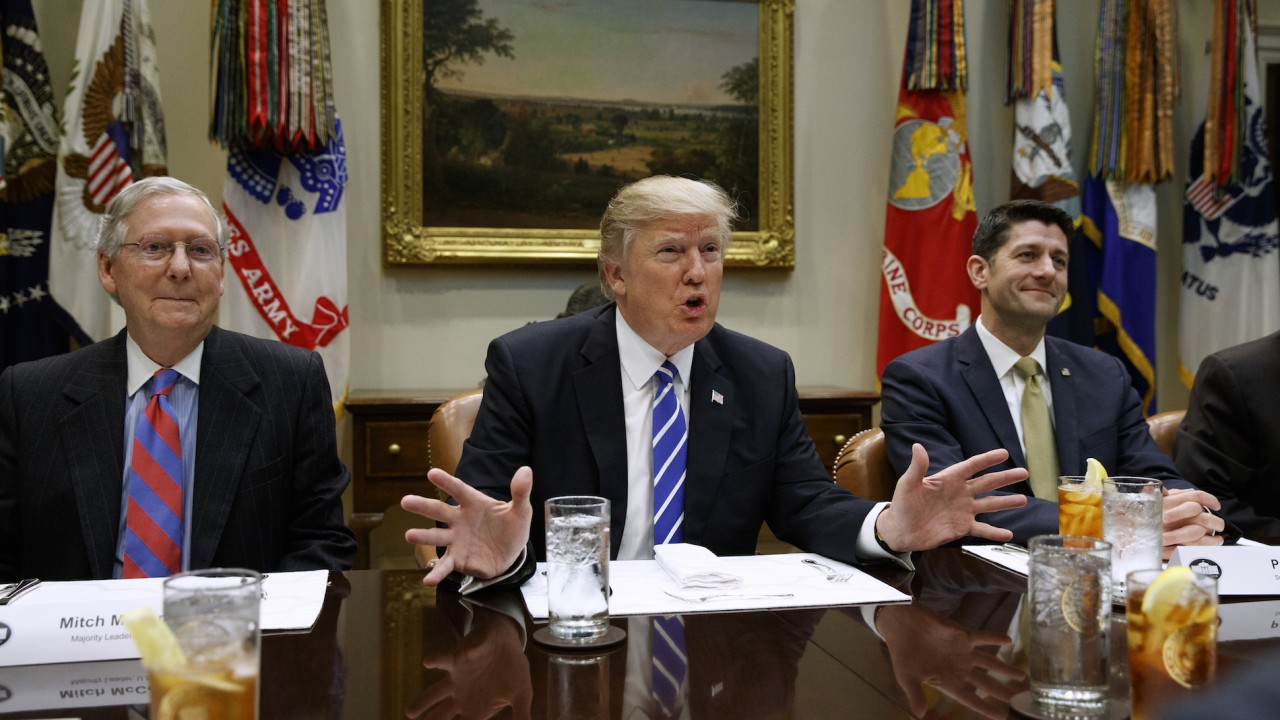Trump Taunts GOP Leaders Over Debt Ceiling After Claiming They're 'United'