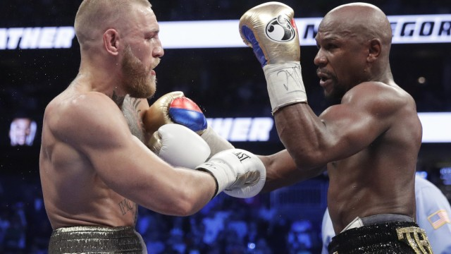 Mayweather or Trump? How the media is covering politics like a boxing match.
