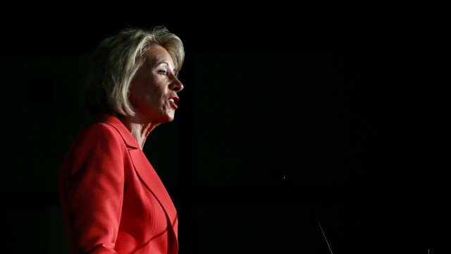 The biased coverage of DeVos and campus sexual assault