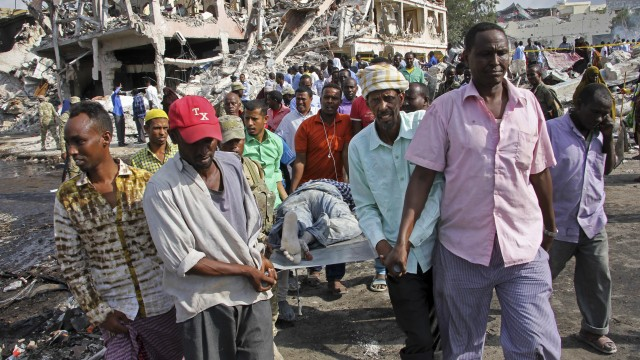 The Daily Cut: Somalia bombings | Austrian election | Hurricane Ophelia | Raqqa offensive | Egypt attacks