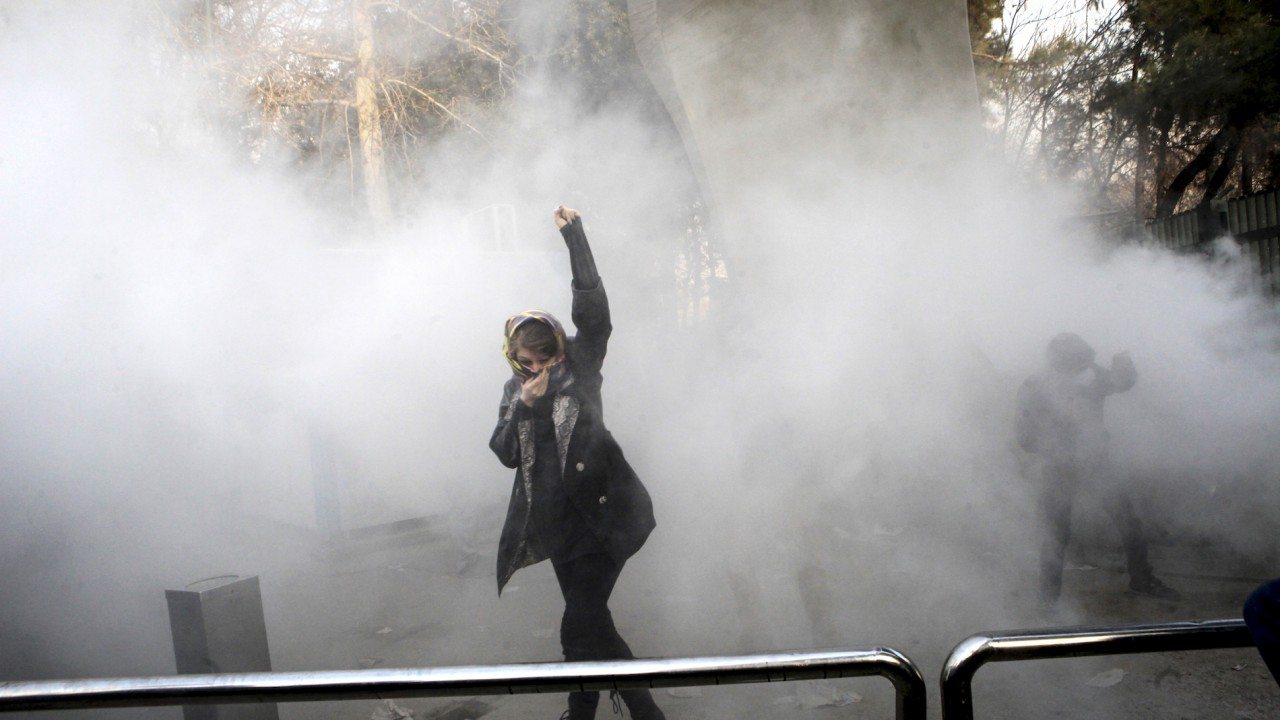 Protests Continue In Iran