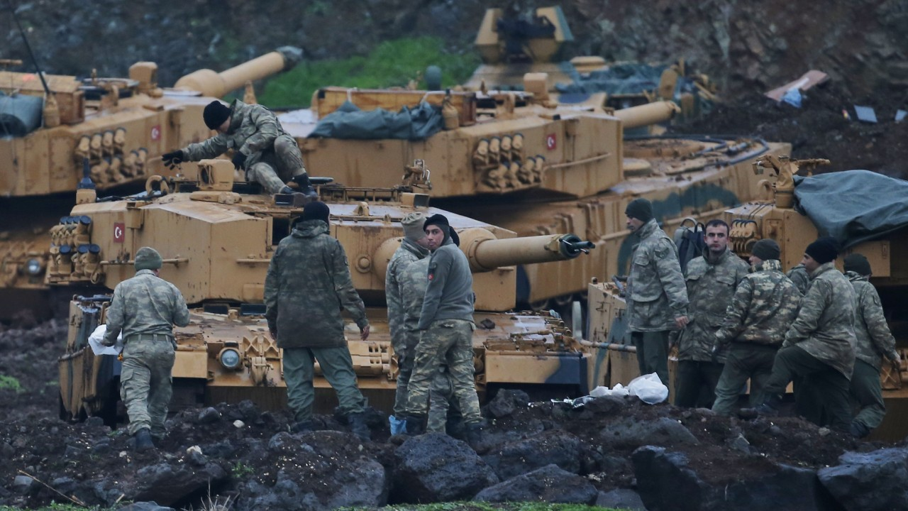 Azerbaijan officially backs Turkey's military operation in Syria