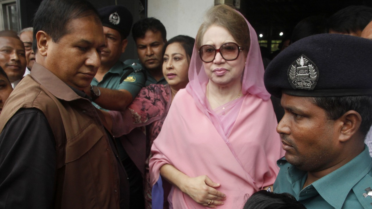 Bangladesh ex-PM Zia gets five yrs' jail in graft case