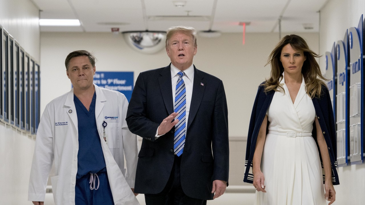 The Florida shooting coverage: An emphasis on what Trump didn't say