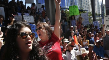 Florida students planning march to promote an end to gun violence