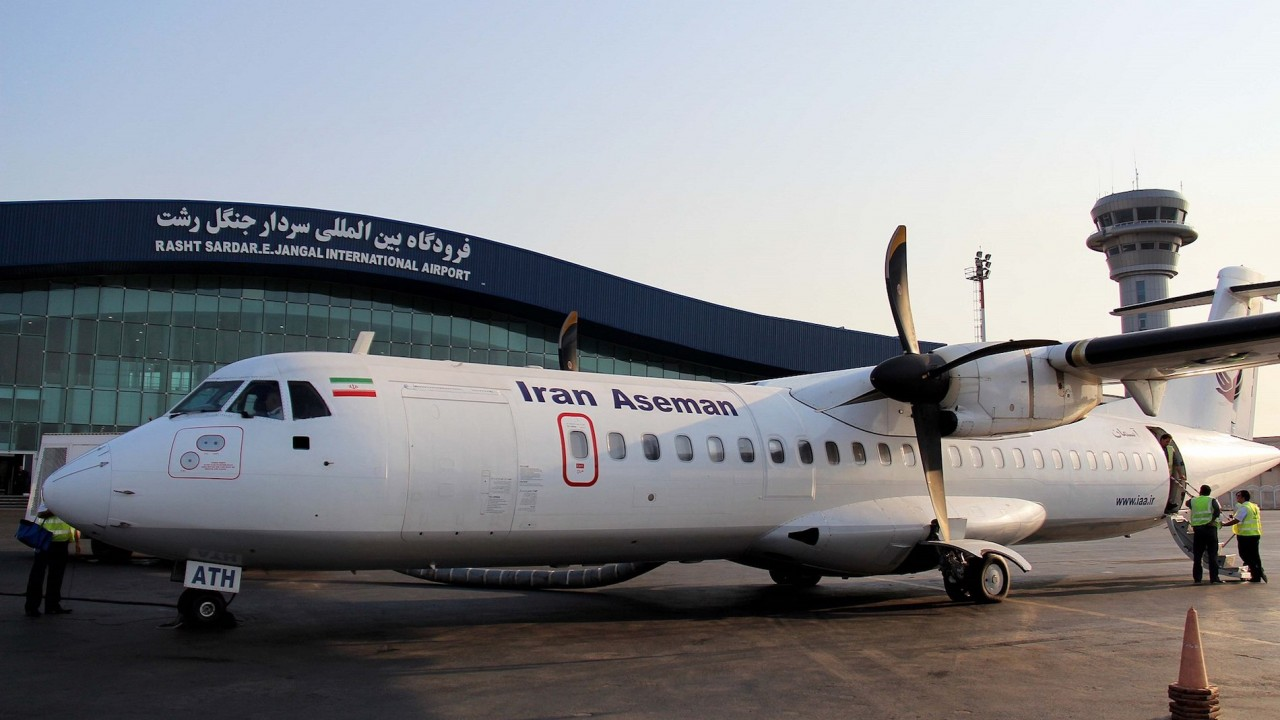 Passenger plane carrying '60 people' crashes in Iran