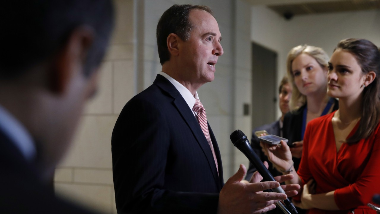 Trump calls Schiff a 'bad guy,' Democratic memo 'a nothing'