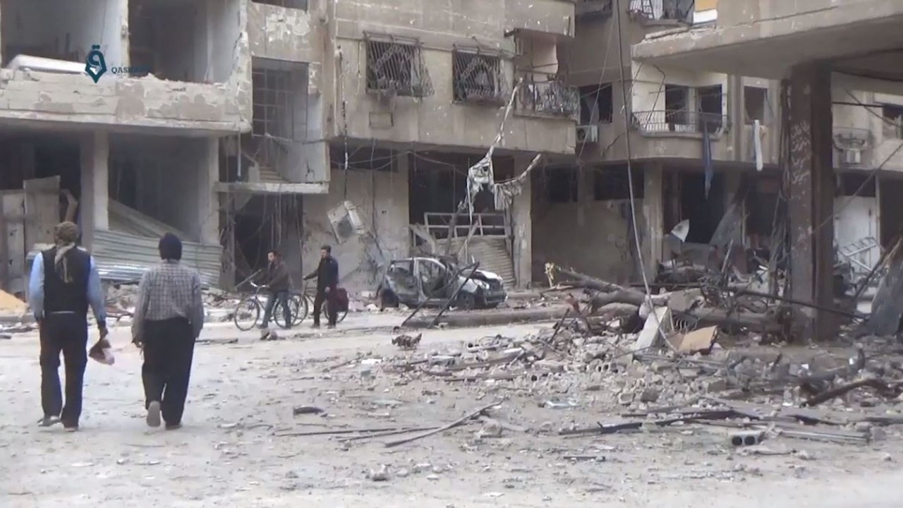Syria begins ground offensive in eastern Ghouta; no civilians evacuate during daily 'ceasefires'