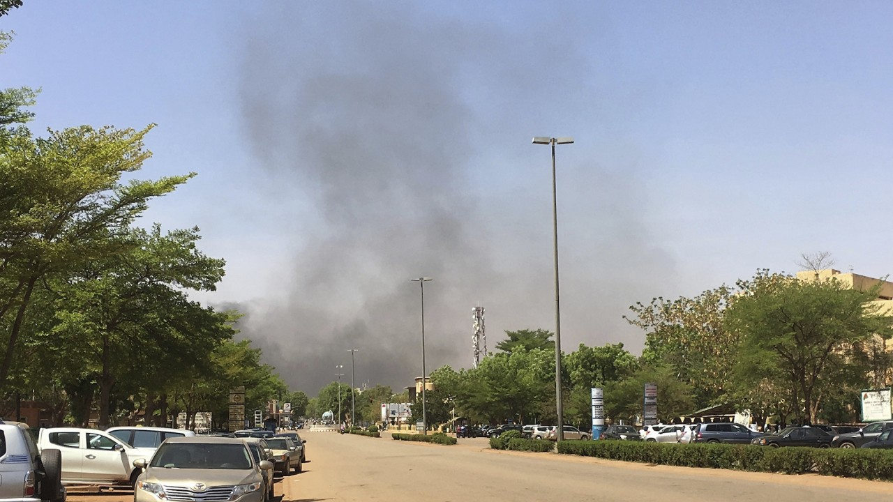 Burkina Faso Attacks on local army HQ and French embassy kill at least 7