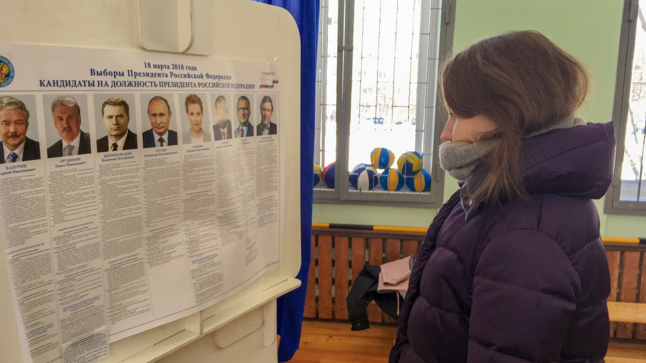 Vladimir Putin wins fourth term in Russian presidential election