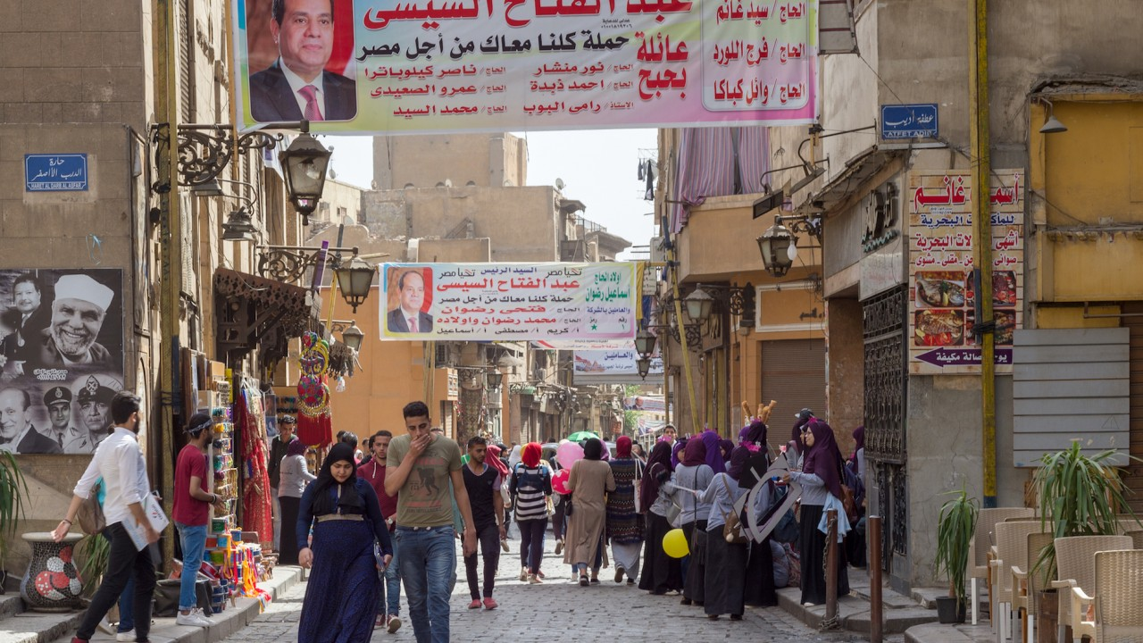 Egypt's three-day presidential election begins Monday