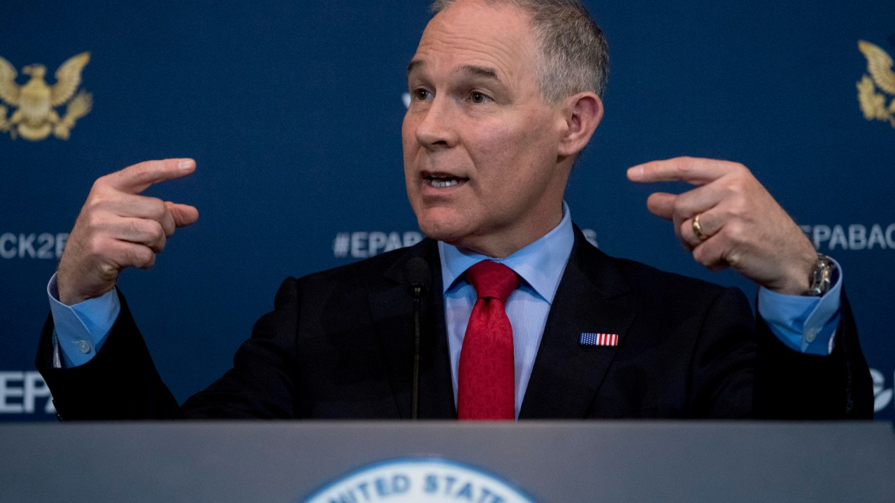 When accusations cross into dishonor: Reporting on the EPA's Scott Pruitt