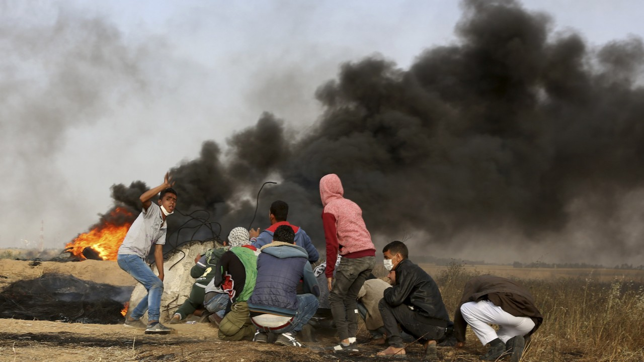 Israeli forces have killed at least 19 Palestinians in Gaza protests