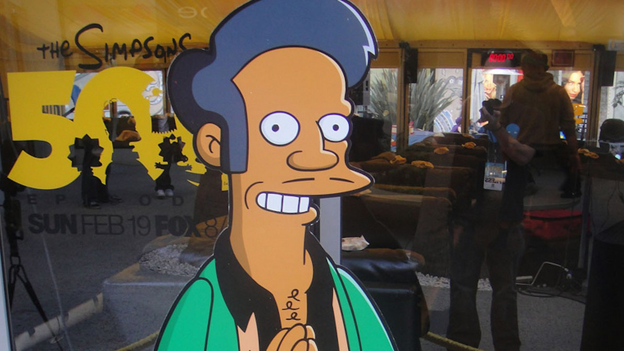 The slanted coverage of Apu and 'The Simpsons'