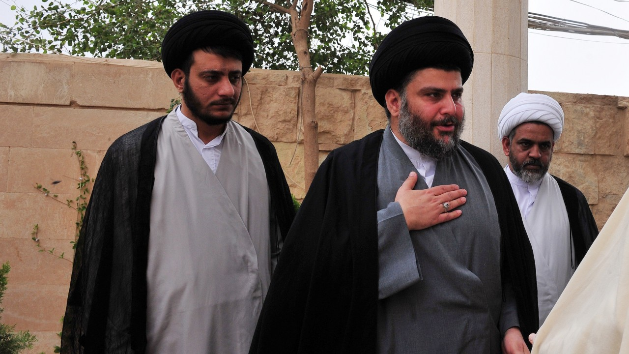 Cleric al-Sadr leads Iraq elections, incumbent PM's coalition in third