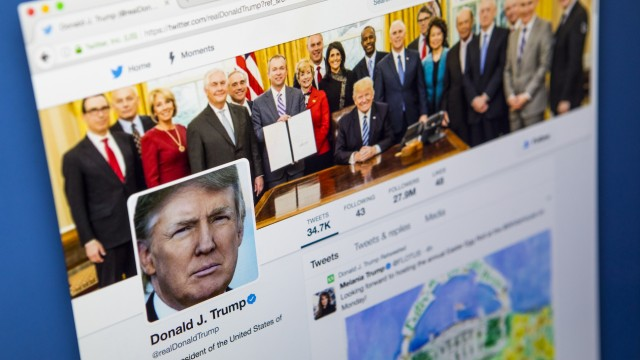 What the media made of Trump's tweets