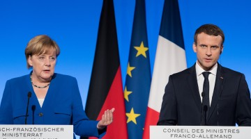 France, Germany announce jet program, eurozone budget