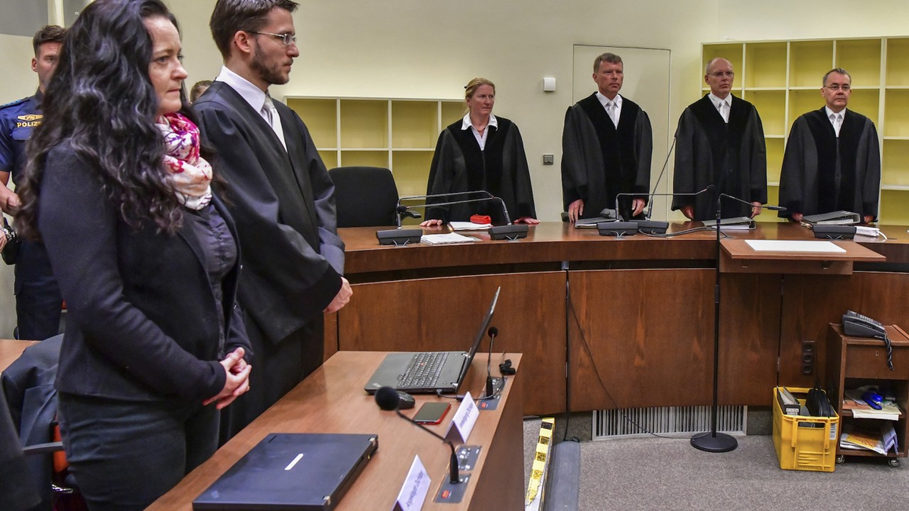 Member of German National Socialist Underground sentenced to life in prison for role in 10 murders