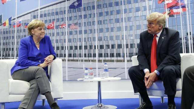 NATO's meeting on defense: Two different takes on the same story